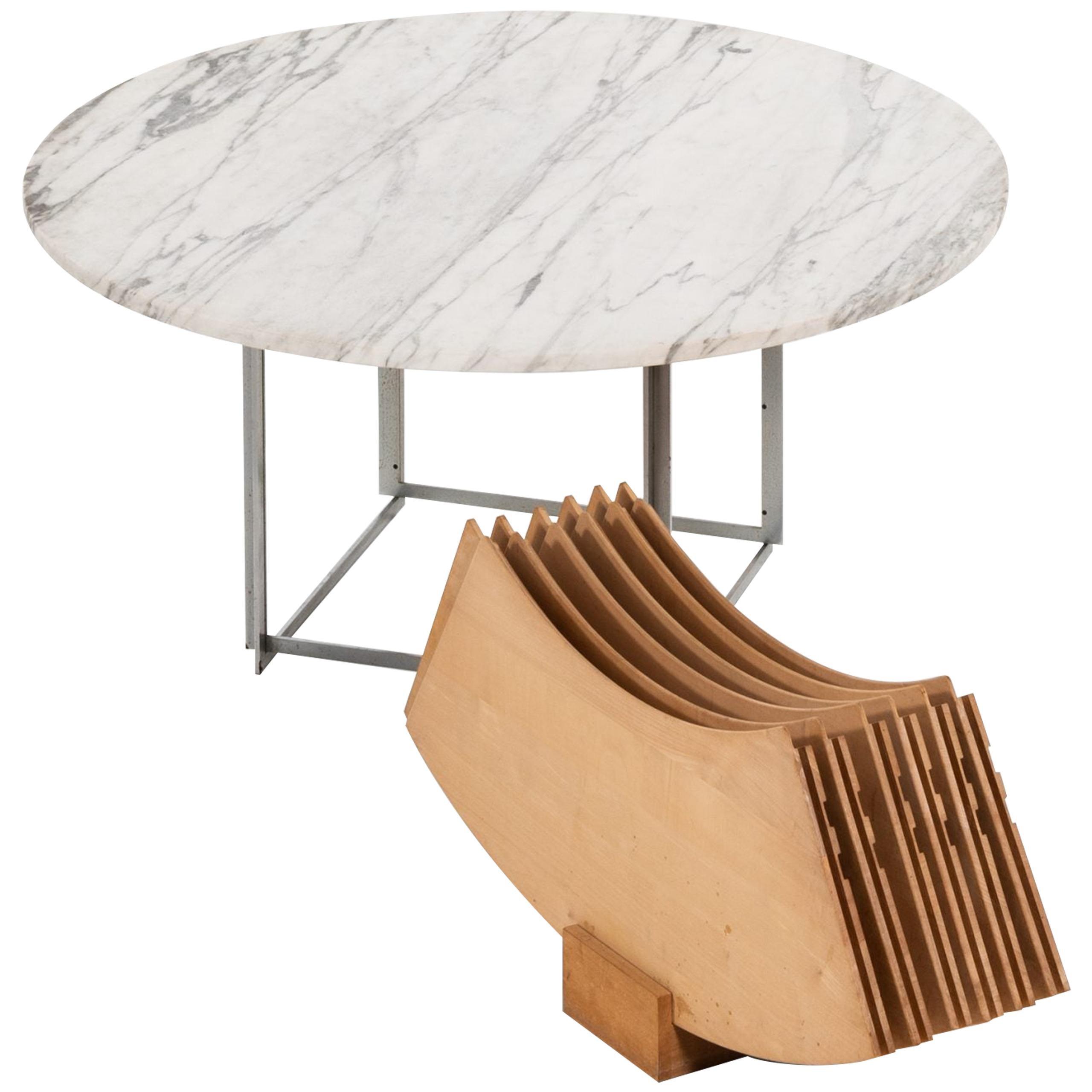 Poul Kjærholm Dining Table Model PK-54 by E. Kold Christensen in Denmark