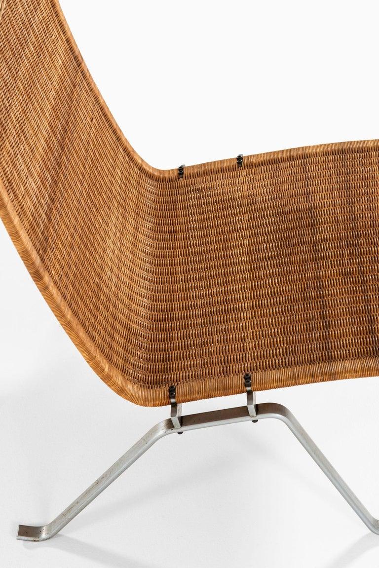 Poul Kjærholm Easy Chairs Model PK-22 Produced by E. Kold Christensen in Denmark For Sale 3