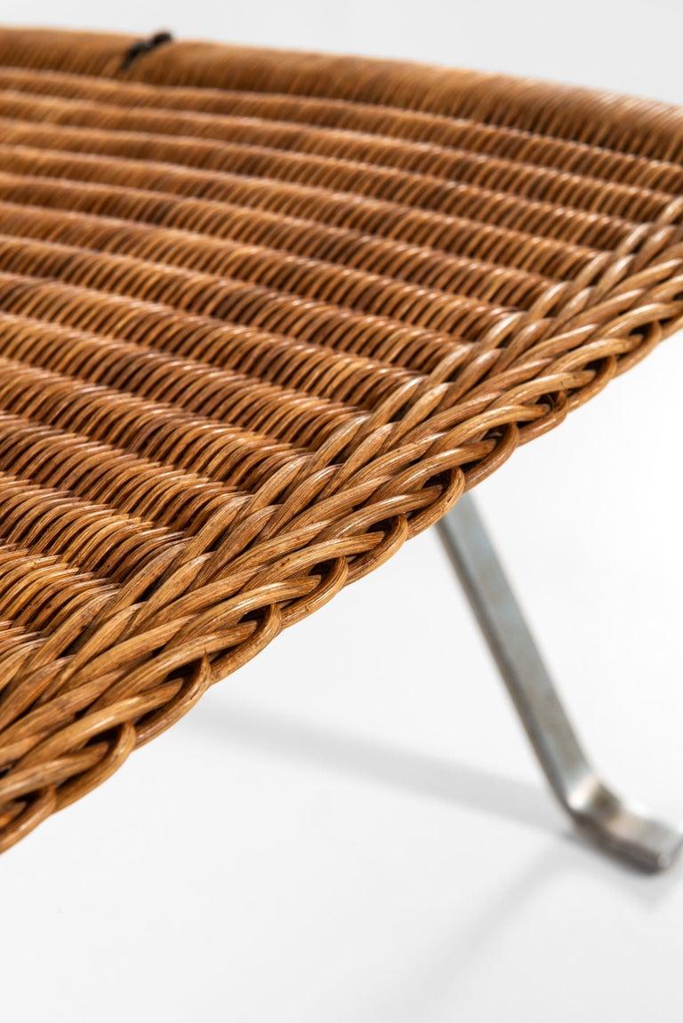 Scandinavian Modern Poul Kjærholm Easy Chairs Model PK-22 Produced by E. Kold Christensen in Denmark For Sale
