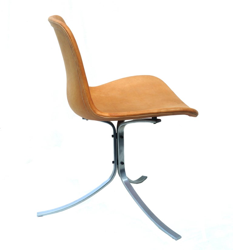 Mid-Century Modern Poul Kjærholm for Fritz Hansen PK-9 Chair For Sale