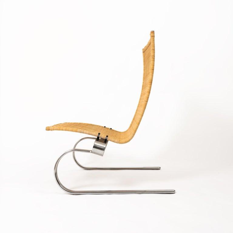 Danish Poul Kjaerholm for Fritz Hansen PK20 Lounge Chair For Sale