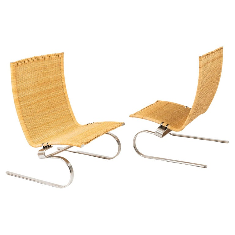 Poul Kjaerholm for Fritz Hansen PK20 Lounge Chair For Sale