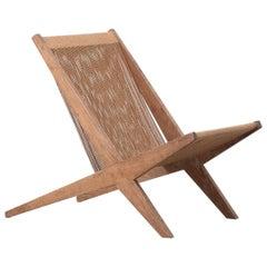 Poul Kjaerholm & Jørgen Høj Lounge Chair, Denmark, 1950s