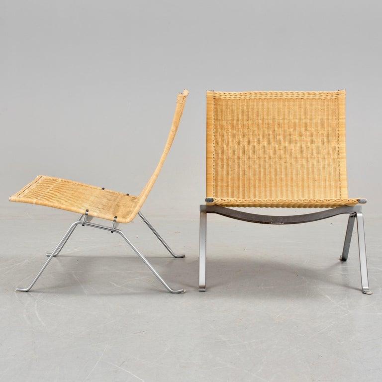 Poul Kjaerholm PK-22 Pair of Easy Chairs 3