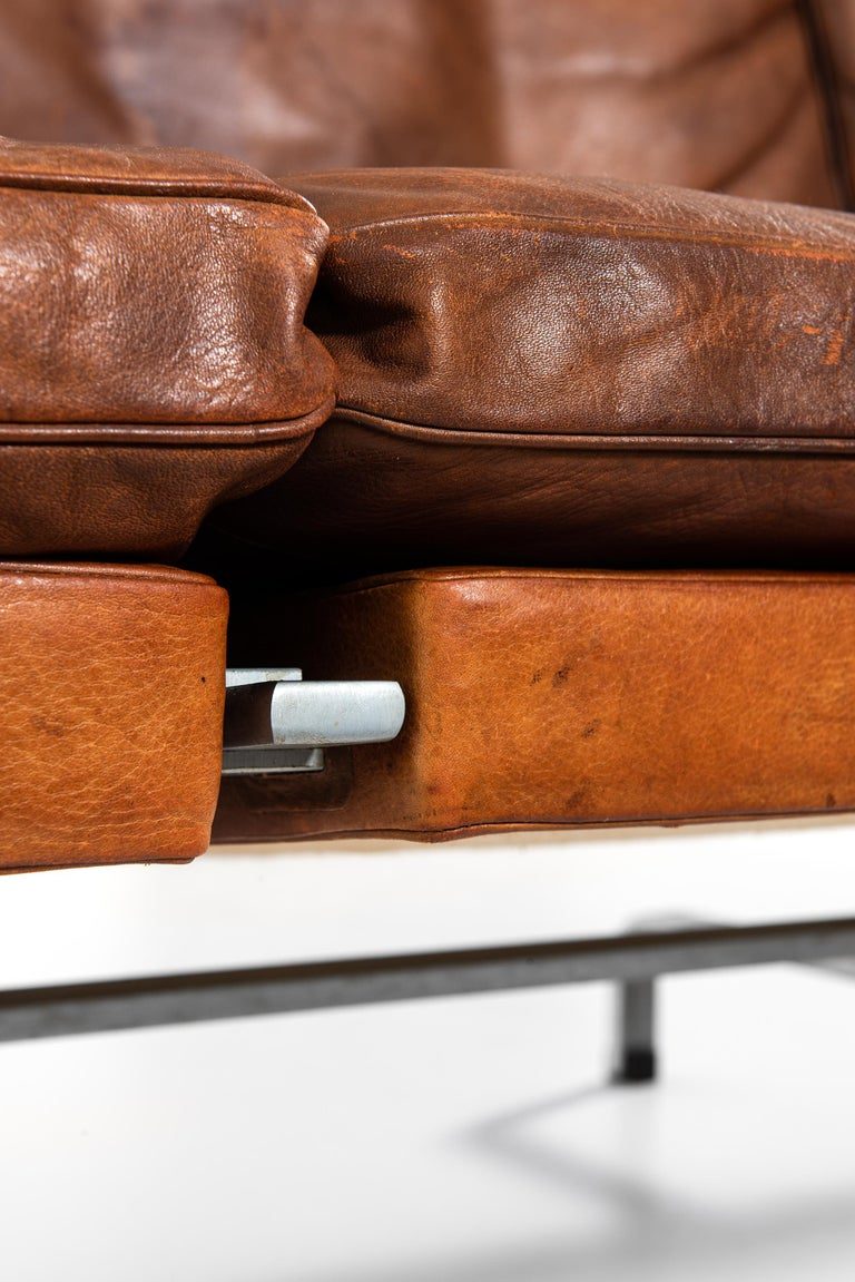 Poul Kjærholm PK-31/3 Sofa by E. Kold Christensen in Denmark For Sale 5