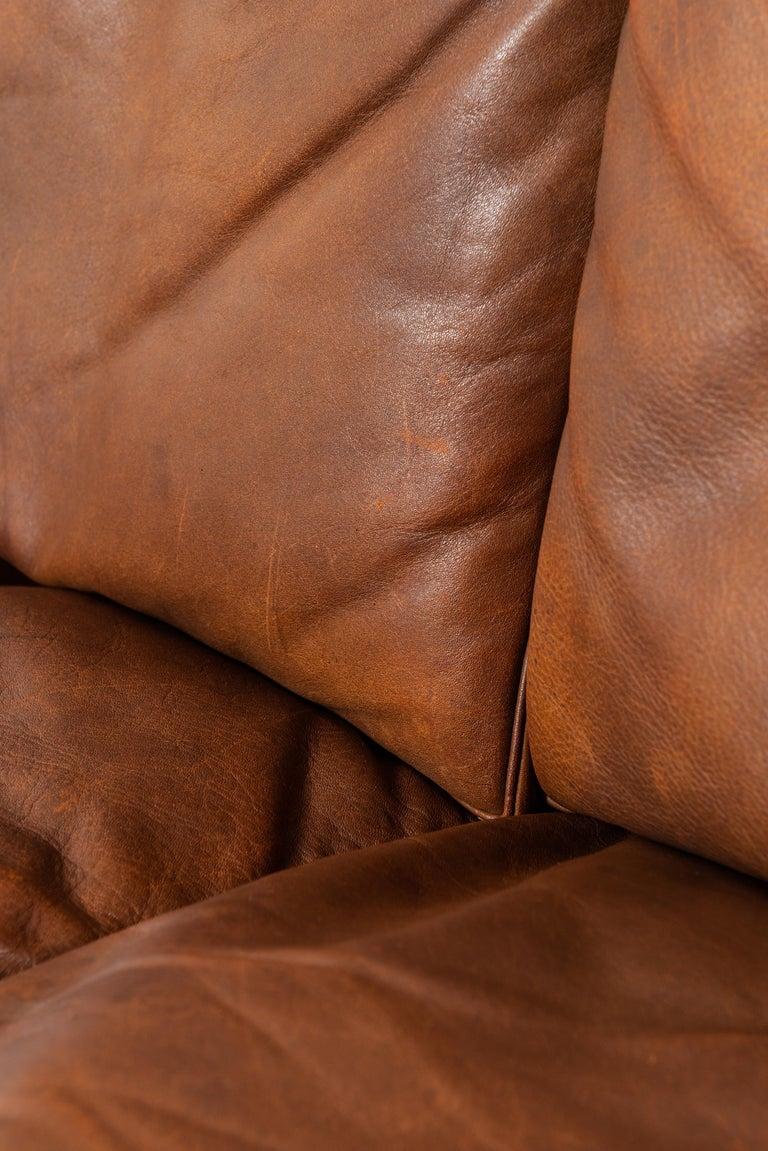 Poul Kjærholm PK-31/3 Sofa by E. Kold Christensen in Denmark For Sale 2