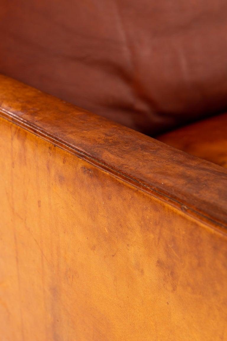 Poul Kjærholm PK-31/3 Sofa Produced by E. Kold Christensen in Denmark For Sale 6