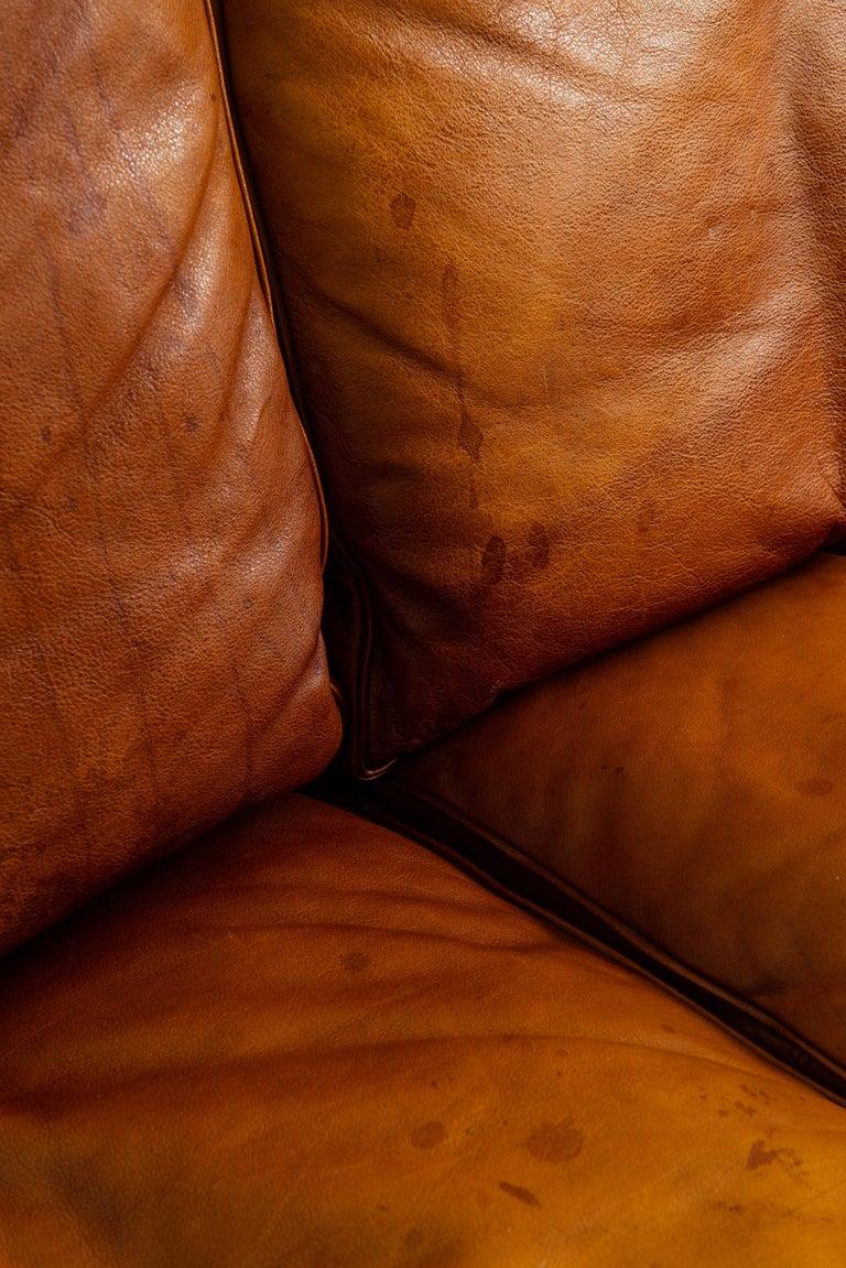 Danish Poul Kjærholm PK-31/3 Sofa Produced by E. Kold Christensen in Denmark For Sale