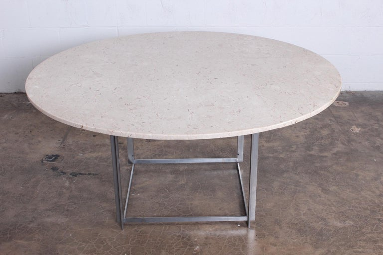 Poul Kjaerholm PK-54 Dining Table by E. Kold Christensen For Sale 2