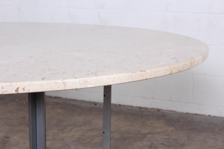 Poul Kjaerholm PK-54 Dining Table by E. Kold Christensen For Sale 5
