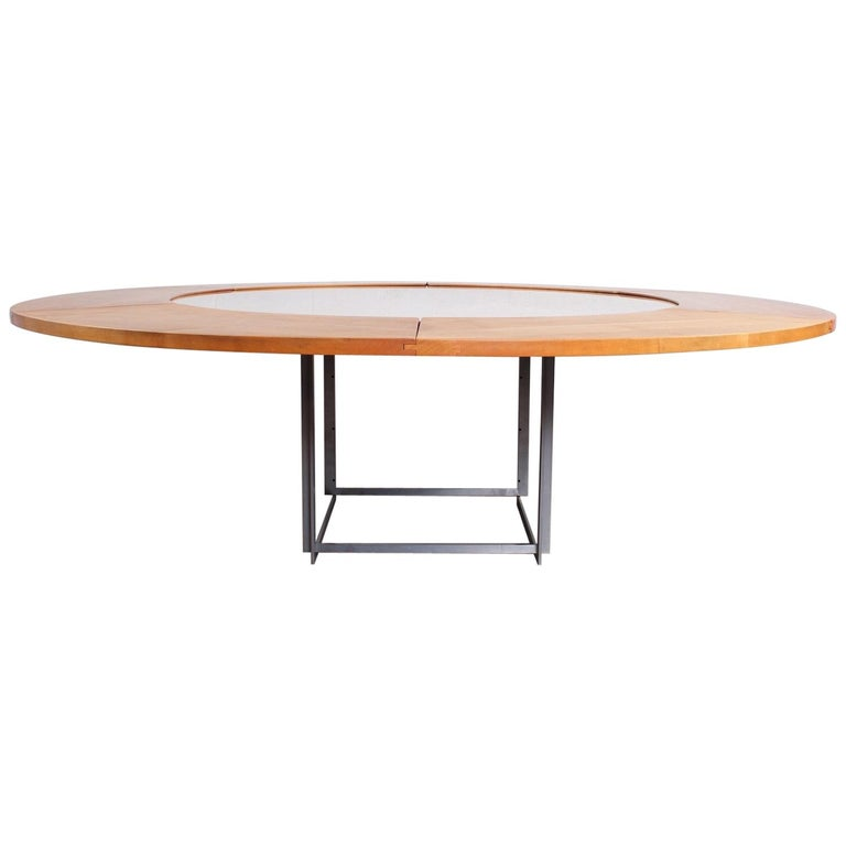 Poul Kjaerholm PK-54 Dining Table by E. Kold Christensen For Sale