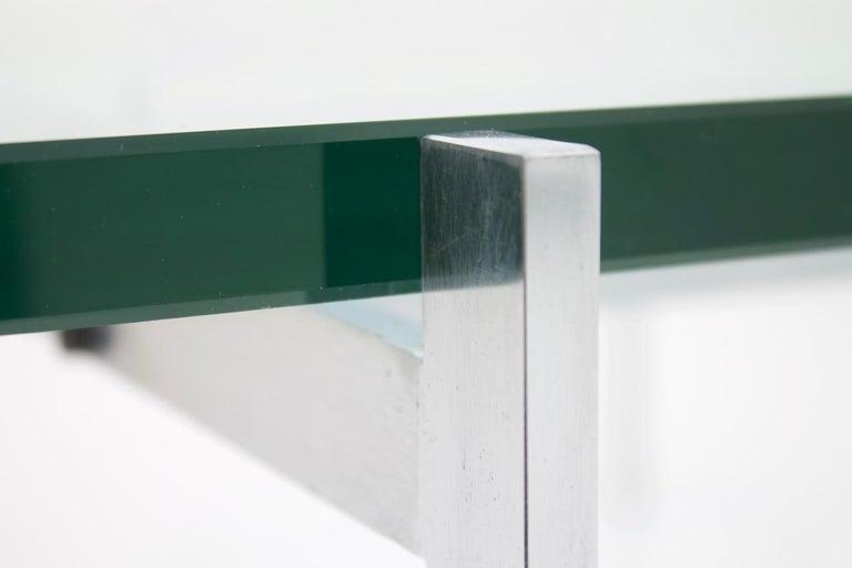 Poul Kjaerholm PK 61 Coffee Table in Steel and Glass E. Kold Christensen Denmark For Sale 6