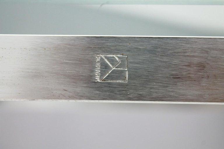 Poul Kjaerholm PK 61 Coffee Table in Steel and Glass E. Kold Christensen Denmark For Sale 4