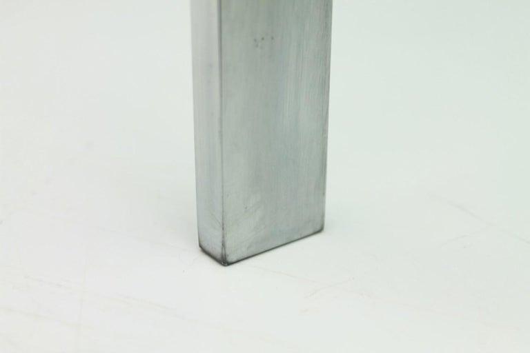 Poul Kjaerholm PK 61 Coffee Table in Steel and Glass E. Kold Christensen Denmark For Sale 5