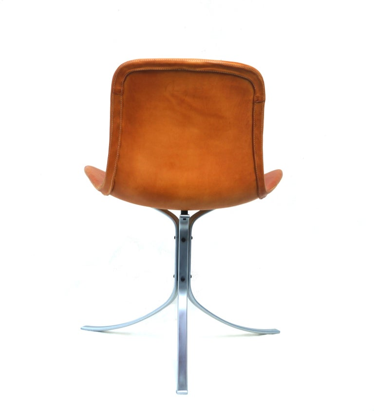 Danish Poul Kjærholm PK-9  Chair E. Kold Christensen Mid-Century Modern, Denmark For Sale