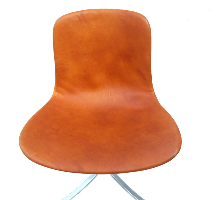 Mid-20th Century Poul Kjærholm PK-9  Chair E. Kold Christensen Mid-Century Modern, Denmark For Sale