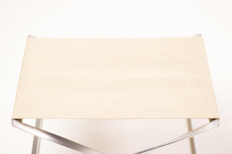 Poul Kjærholm PK 91 Folding Stool In Good Condition For Sale In Dronten, NL