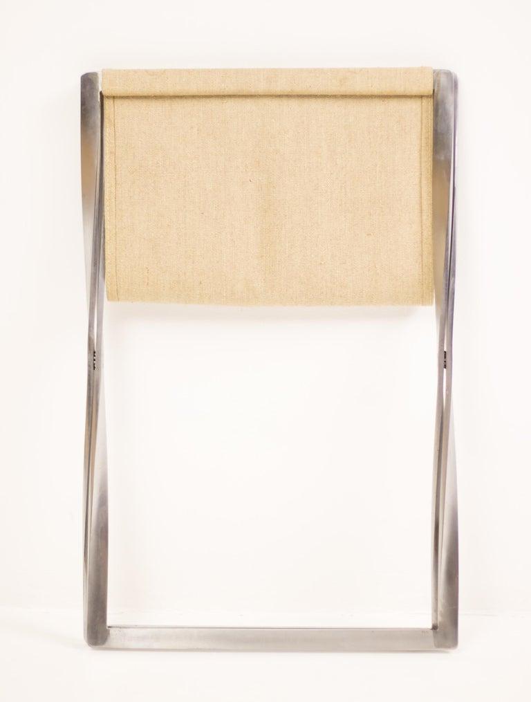 20th Century Poul Kjærholm PK 91 Folding Stool For Sale
