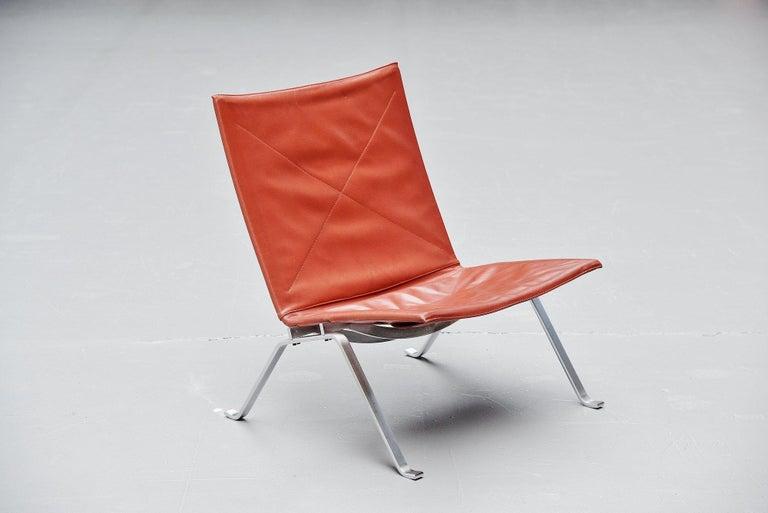 Poul Kjaerholm PK22 Chairs E Kold Christensen, Denmark, 1956 For Sale 3