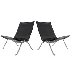 Poul Kjaerholm PK22 Chairs for E. Kold Christensen