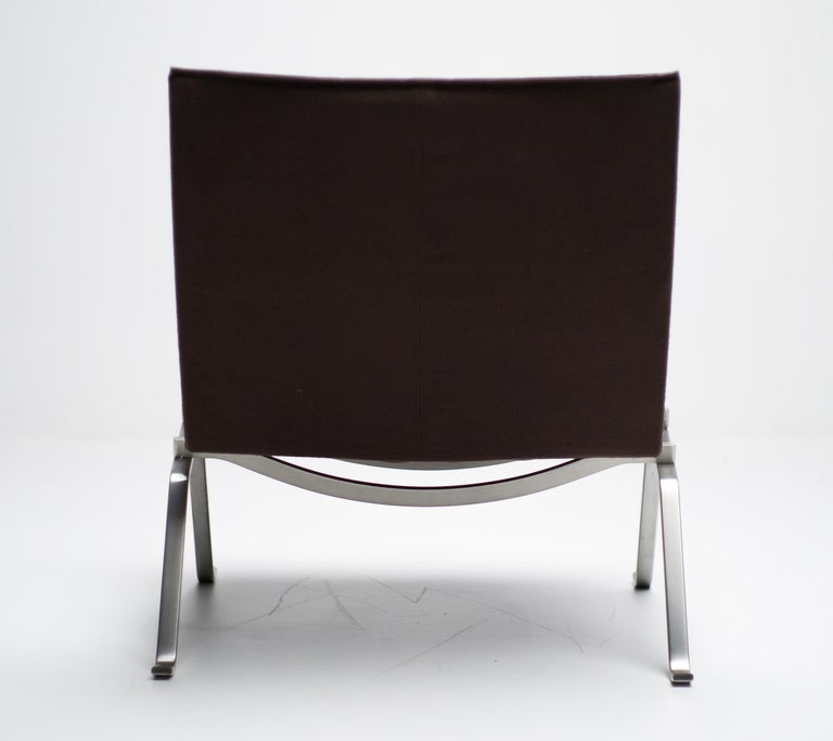 Poul Kjaerholm PK22 in Canvas In Good Condition For Sale In Dronten, NL