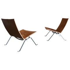 Poul Kjaerholm PK22 Lounge Chairs for Fritz Hansen 2008