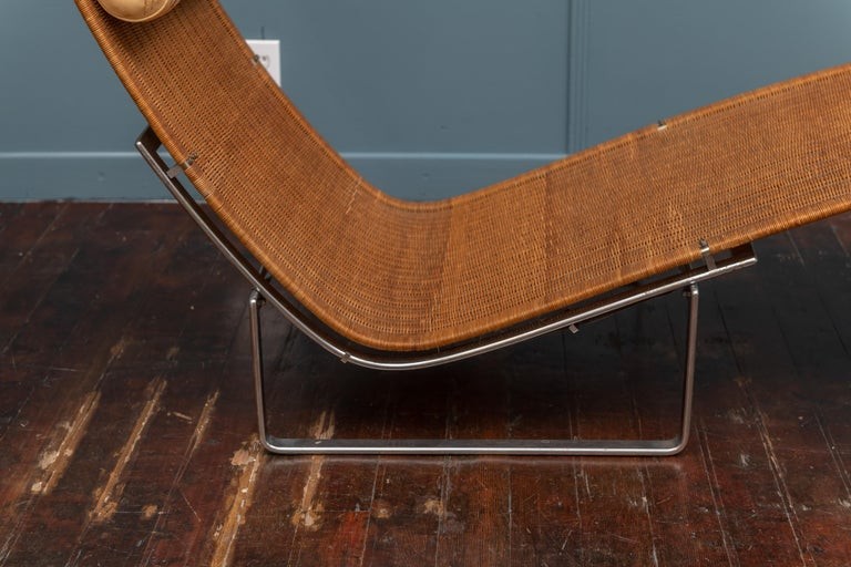 Late 20th Century Poul Kjaerholm PK24 Chaise Lounge For Sale