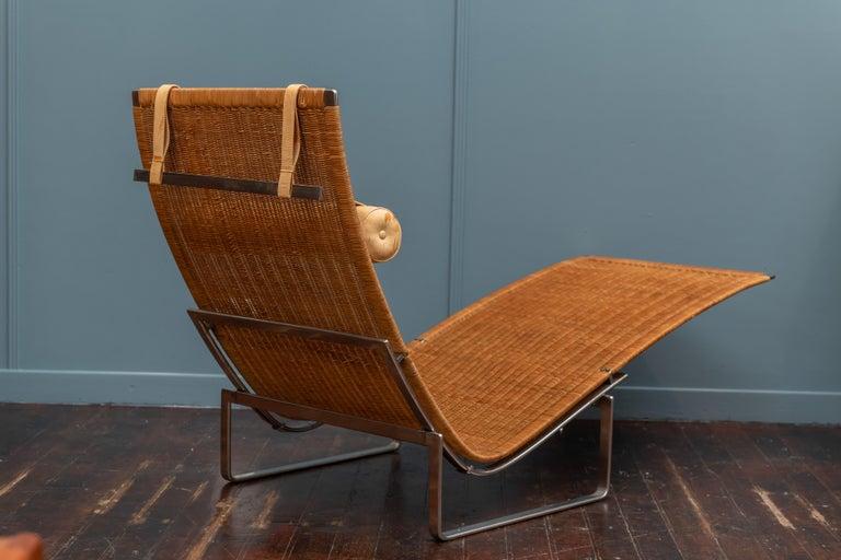 Poul Kjaerholm PK24 Chaise Lounge For Sale 1