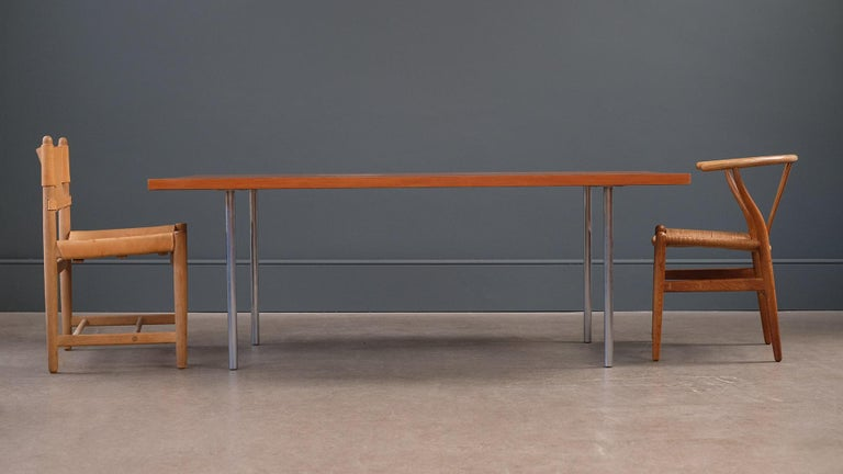 Scandinavian Modern Poul Kjærholm PK41 Table For Sale