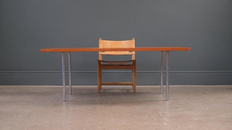 Danish Poul Kjærholm PK41 Table For Sale