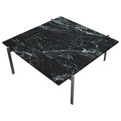Poul Kjaerholm PK61 Coffee Table in Italian Spider Green Marble, Denmark, 1956