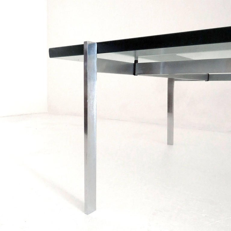 Poul Kjaerholm PK61 for E. Kold Christensen Coffee Table, 1969 In Good Condition For Sale In Los Angeles, CA