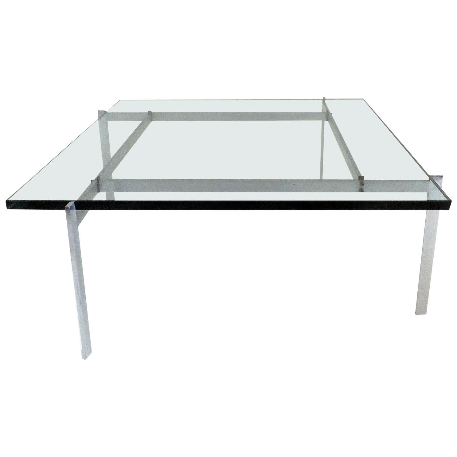 Poul Kjaerholm PK61 for E. Kold Christensen Coffee Table, 1969