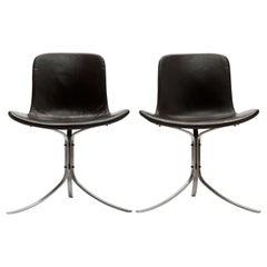 Poul Kjaerholm PK9 Chair 's' by Ejvind Kold Christensen Denmark