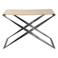 Poul Kjaerholm PK91 Folding Stool for E. Kold Christensen
