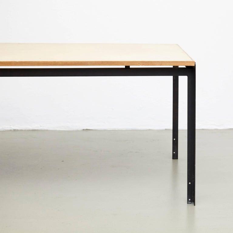 Mid-Century Modern Poul Kjaerholm Professors Desk For Sale