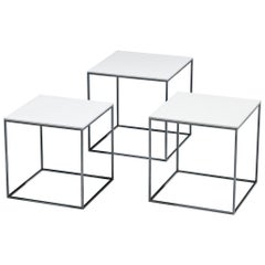 Poul Kjaerholm Set of 'PK17' Nesting Tables
