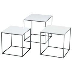 Poul Kjaerholm Set of 'PK17' Side Tables
