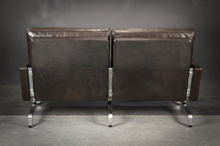 Poul Kjaerholm Two-Seat Black