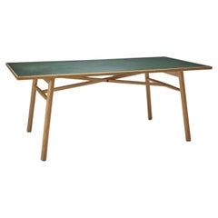 """Poul M. Volther """"C35 FDB"""" Dining Table for FDB Møbler, Denmark, 1950s"""