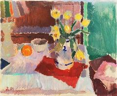 'Still Life of Tulips', Post-Impressionist, Royal Academy of Art, Copenhagen
