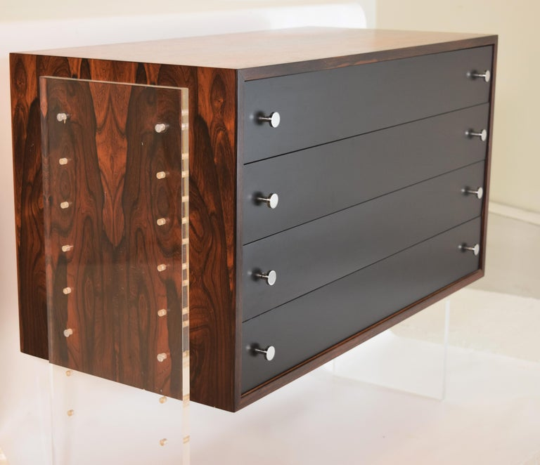 Danish Poul Norreklit Variable Height Cabinet For Sale