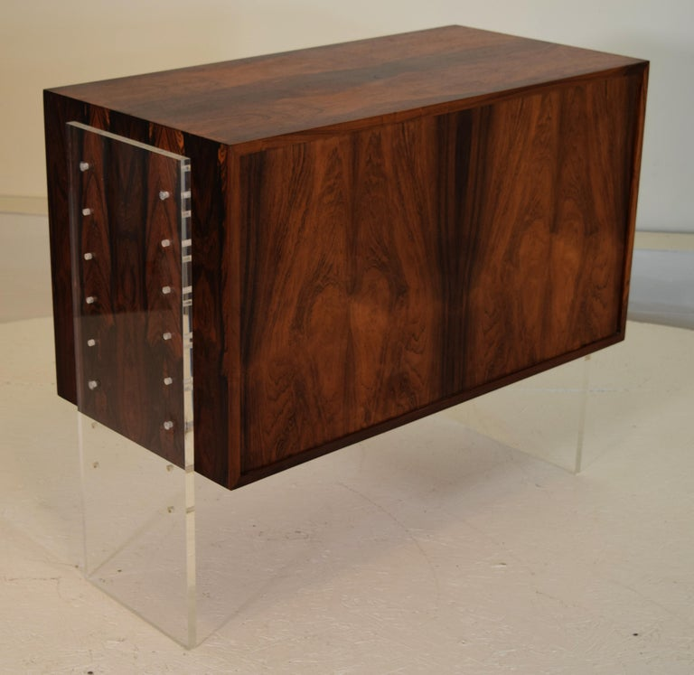 20th Century Poul Norreklit Variable Height Cabinet For Sale
