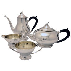 Poul Petersen Four-Piece Sterling Tea and Coffee Service