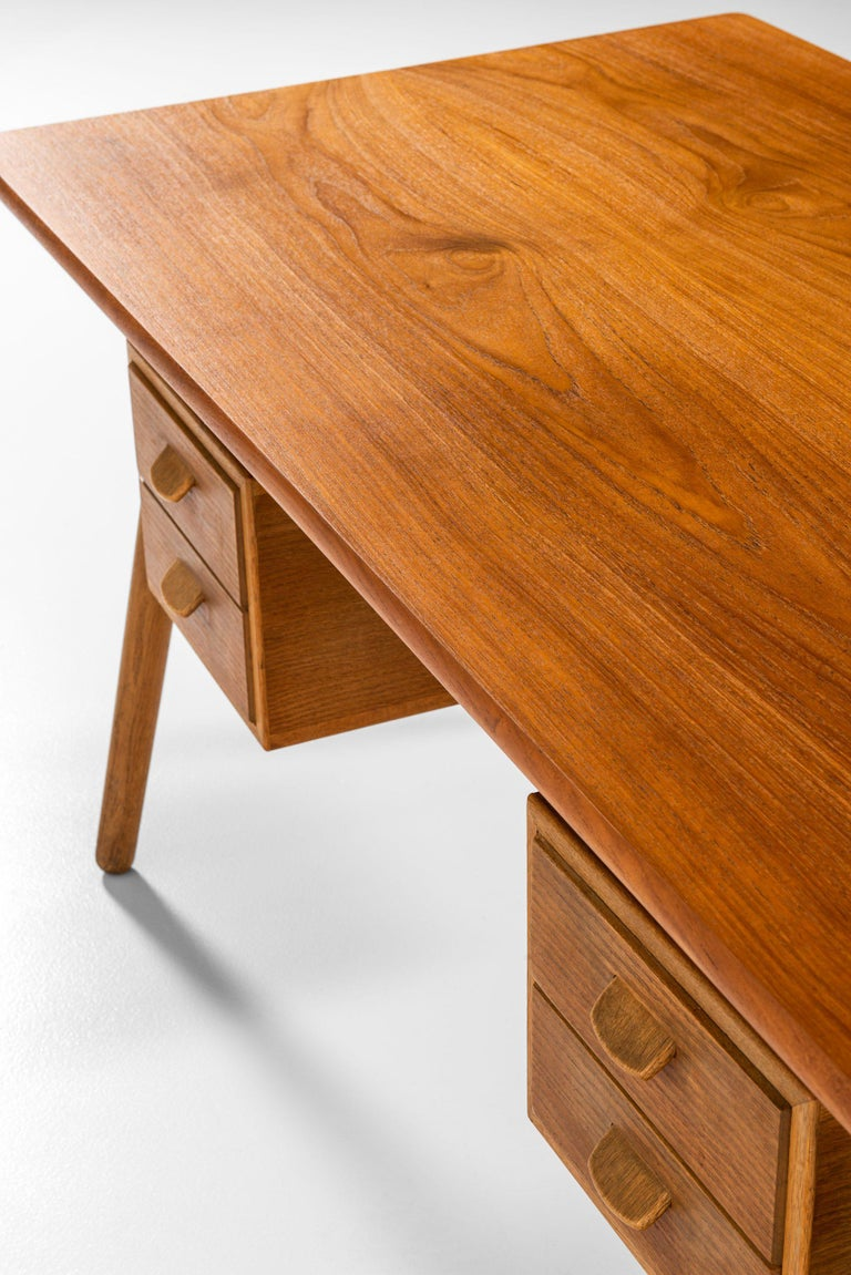 Poul Volther Desk Produced by FDB Møbler in Denmark For Sale 5