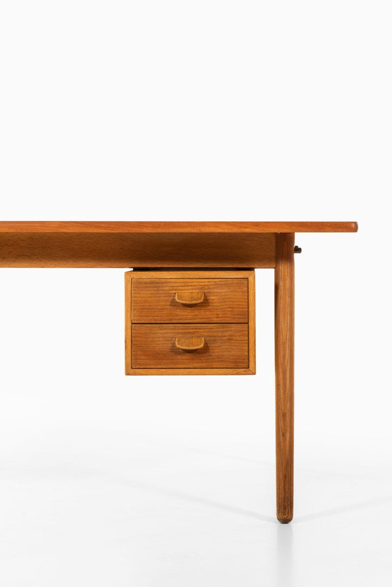 Scandinavian Modern Poul Volther Desk Produced by FDB Møbler in Denmark For Sale