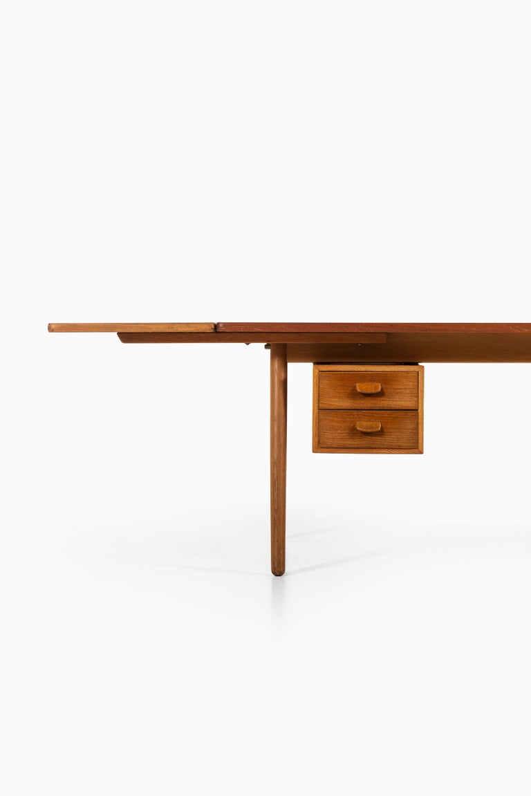 Danish Poul Volther Desk Produced by FDB Møbler in Denmark For Sale