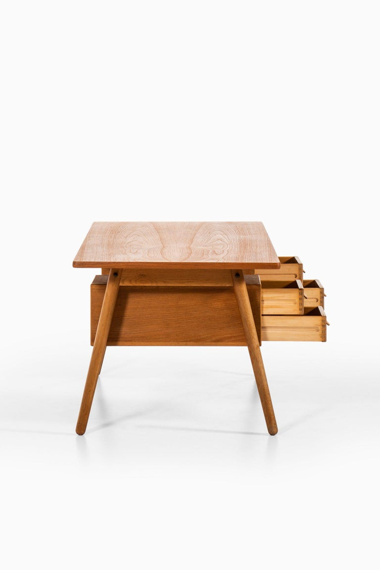 Poul Volther Desk Produced by FDB Møbler in Denmark For Sale 2