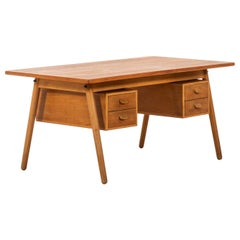 Poul Volther Desk Produced by FDB Møbler in Denmark