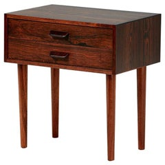 Poul Volther Rosewood Bedside Cabinet, circa 1960